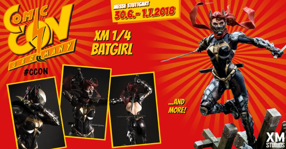 XM Studios: Comic Con Germany Stuttgart 2018  Banner960Batgirl