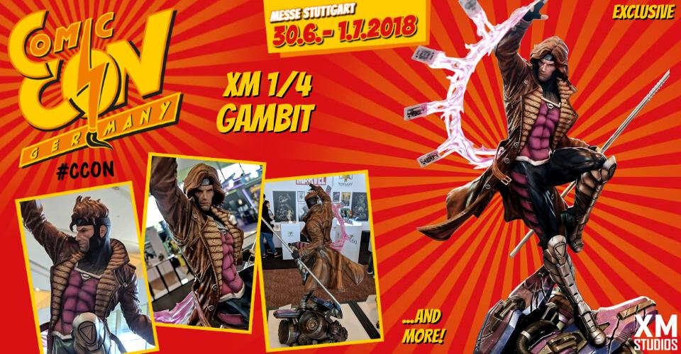 XM Studios: Comic Con Germany Stuttgart 2018  Banner960Gambit