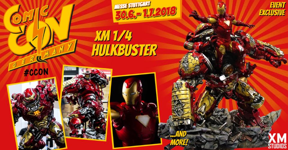 XM Studios: Comic Con Germany Stuttgart 2018  Banner960Hulkbuster