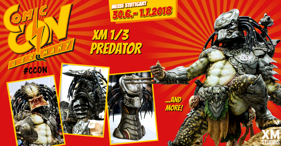 XM Studios: Comic Con Germany Stuttgart 2018  Banner960Predator