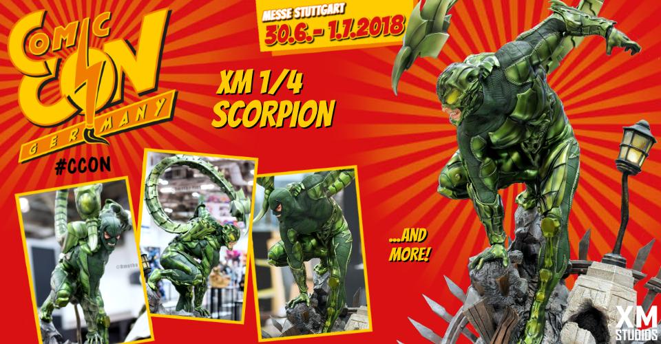 XM Studios: Comic Con Germany Stuttgart 2018  Banner960Scorpion