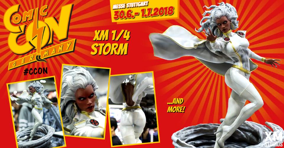 XM Studios: Comic Con Germany Stuttgart 2018  Banner960Storm