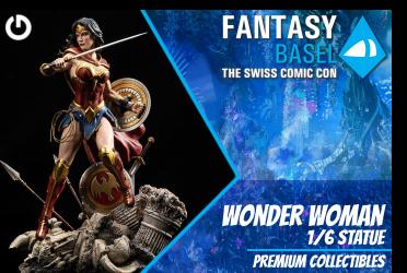 XM Studios: Coverage Fantasy Basel 2019 - May 3rd to 5th   WonderWomanBasel