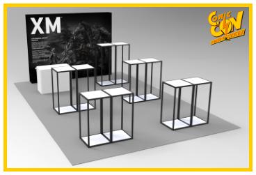 XM Studios: Comic Con Germany Stuttgart 2018  BoothRechtsForen2