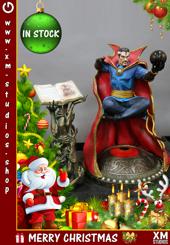 XM Studios: GHeroes Europe Christmas Special 2018  Dr_Strange