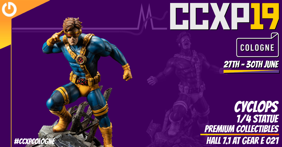 XM Studios: Coverage CCXP Cologne 2019 - June 27th to 30th  Banner960Cyclops