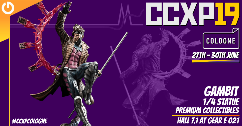 XM Studios: Coverage CCXP Cologne 2019 - June 27th to 30th  Banner960Gambit