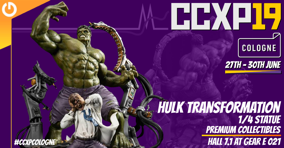 XM Studios: Coverage CCXP Cologne 2019 - June 27th to 30th  Banner960HulkTransformation