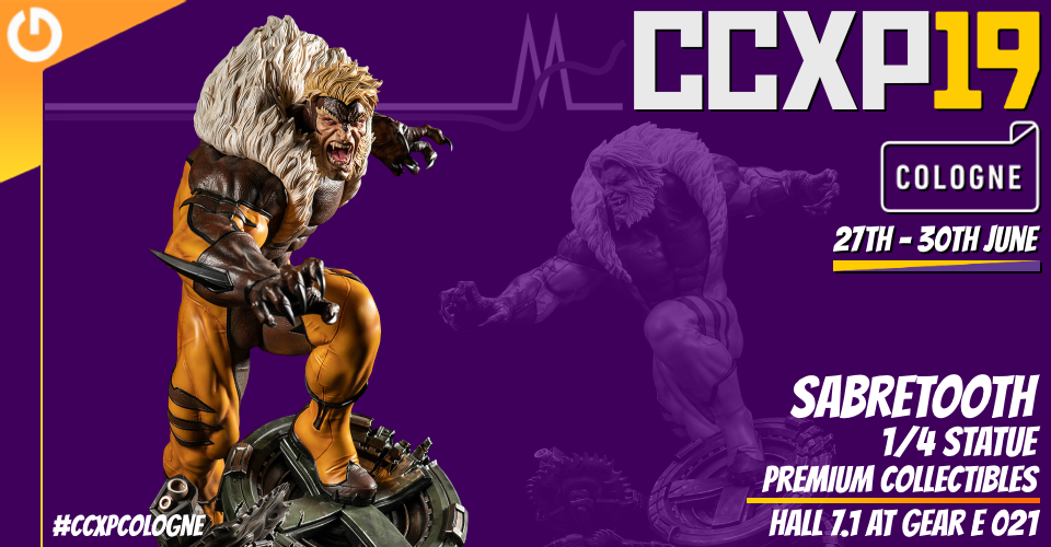 XM Studios: Coverage CCXP Cologne 2019 - June 27th to 30th  Banner960Sabretooth