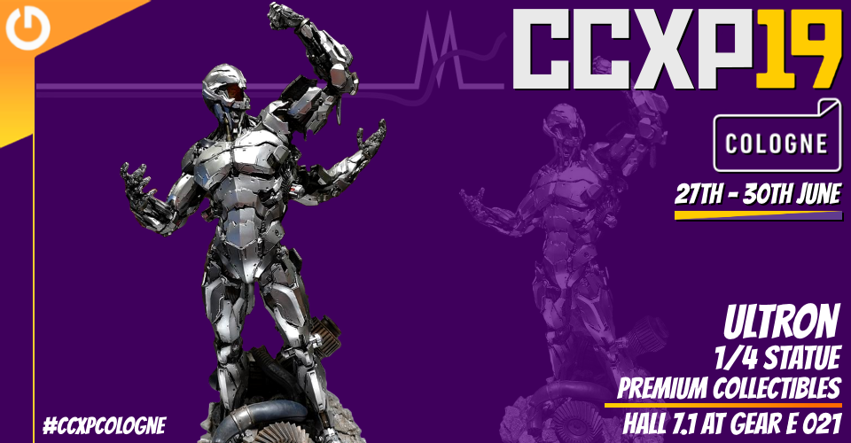 XM Studios: Coverage CCXP Cologne 2019 - June 27th to 30th  Banner960Ultron