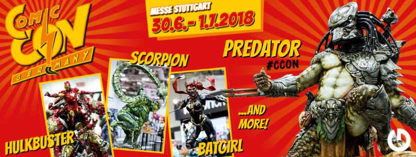 XM Studios: Comic Con Germany Stuttgart 2018  Facebook