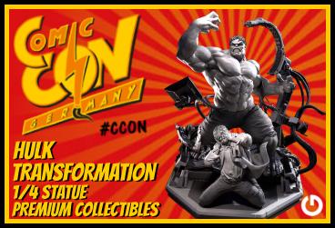 XM Studios: Comic Con Germany Stuttgart 2018  HulkTransformationEEXForen