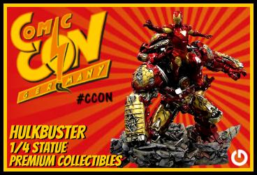 XM Studios: Comic Con Germany Stuttgart 2018  HulkbusterEEXForen