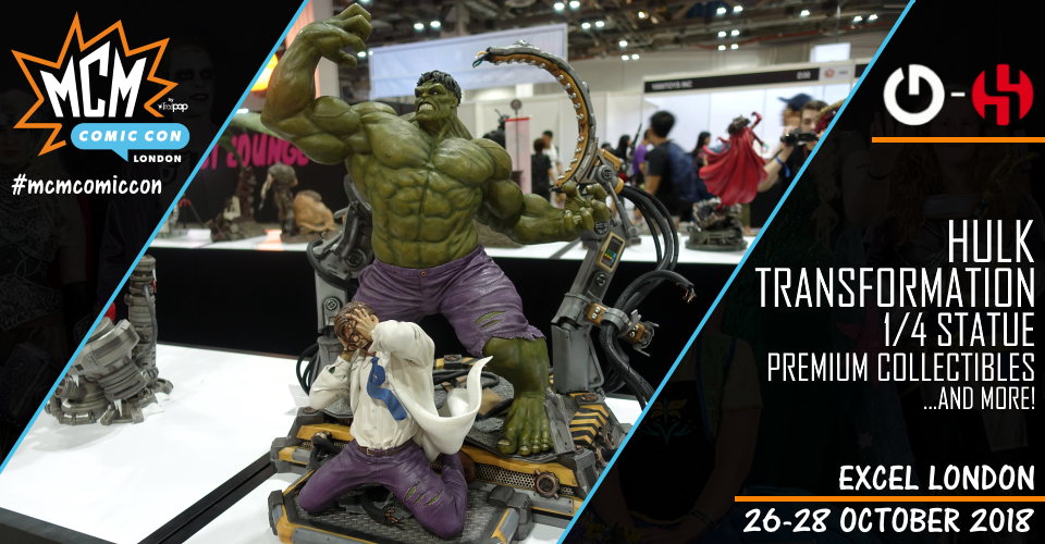 XM Studios: Coverage London 2018 - October 26th to 28th  Banner960HulkTransformation