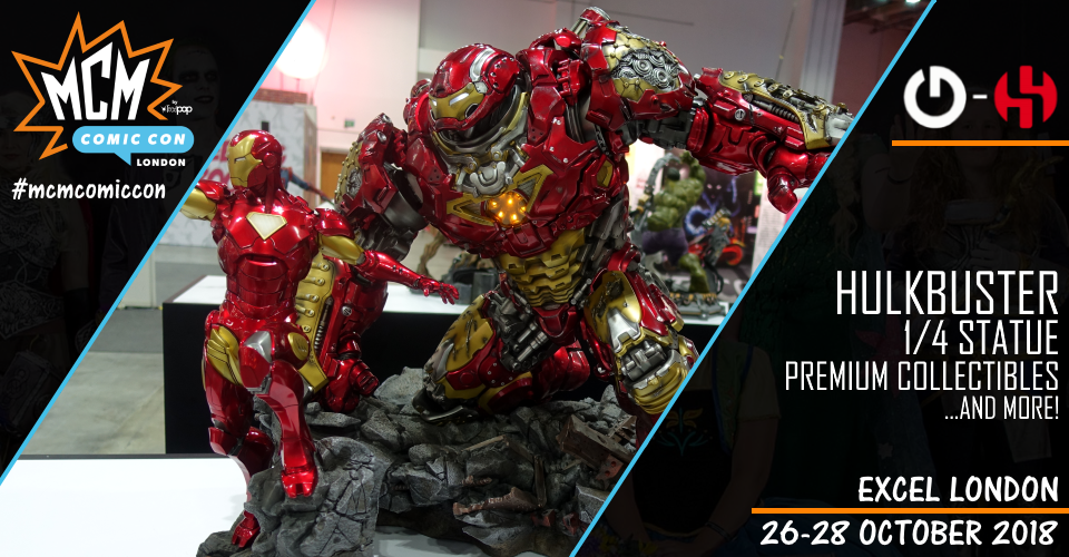 XM Studios: Coverage London 2018 - October 26th to 28th  Banner960Hulkbuster
