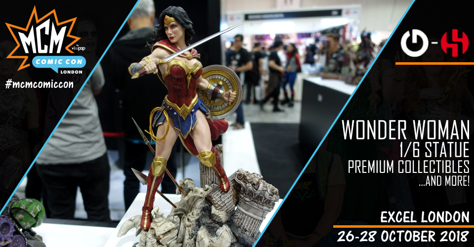 XM Studios: Coverage London 2018 - October 26th to 28th  Banner960WonderWoman