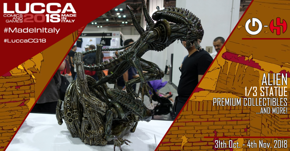 XM Studios: Coverage Lucca 2018 - Oct. 31th to Nov. 4th   Banner960Alien