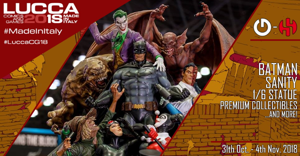 XM Studios: Coverage Lucca 2018 - Oct. 31th to Nov. 4th   Banner960Batman