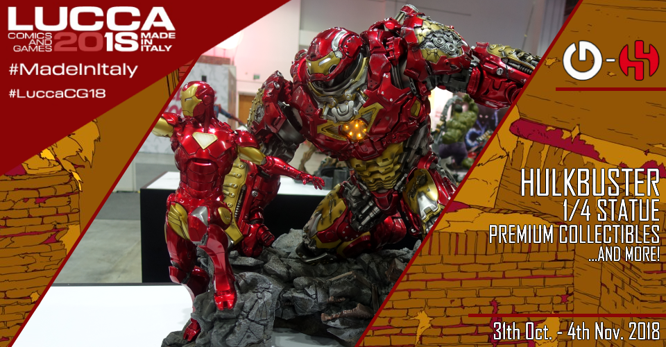 XM Studios: Coverage Lucca 2018 - Oct. 31th to Nov. 4th   Banner960Hulkbuster