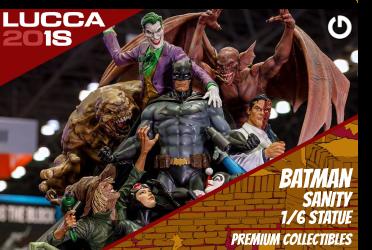 XM Studios: Coverage Lucca 2018 - Oct. 31th to Nov. 4th   BatmanLucca