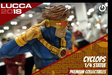 XM Studios: Coverage Lucca 2018 - Oct. 31th to Nov. 4th   CyclopsLucca