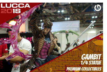 XM Studios: Coverage Lucca 2018 - Oct. 31th to Nov. 4th   GambitLucca