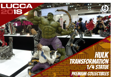 XM Studios: Coverage Lucca 2018 - Oct. 31th to Nov. 4th   HulkTransformationLucca