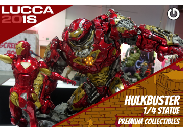 XM Studios: Coverage Lucca 2018 - Oct. 31th to Nov. 4th   HulkbusterLucca