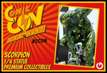 XM Studios: Comic Con Germany Stuttgart 2018  ScorpionForen