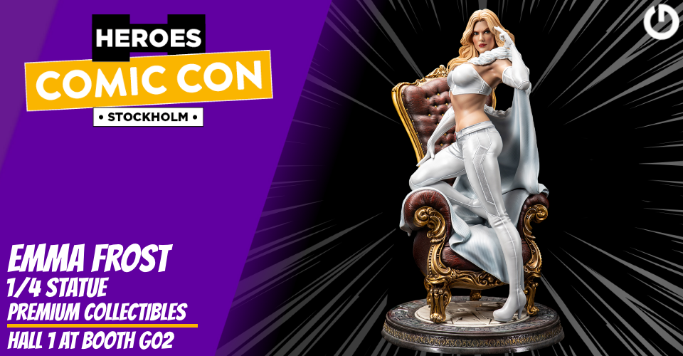 XM Studios: Coverage Comic Con Stockholm 2019 - September 13th to 15th  Banner960EmmaFrost