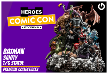 XM Studios: Coverage Comic Con Stockholm 2019 - September 13th to 15th  BatmanSanityStockholmForen