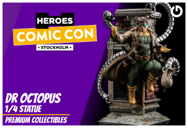 XM Studios: Coverage Comic Con Stockholm 2019 - September 13th to 15th  DrOctopusStockholmForen