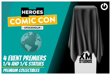 XM Studios: Coverage Comic Con Stockholm 2019 - September 13th to 15th  EventPremierStockholmForen