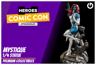 XM Studios: Coverage Comic Con Stockholm 2019 - September 13th to 15th  MystiqueStockholmForen