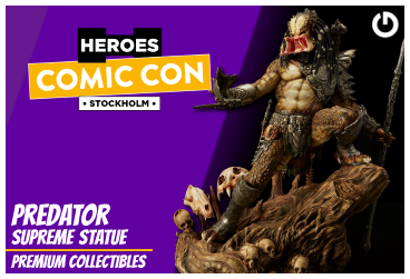 XM Studios: Coverage Comic Con Stockholm 2019 - September 13th to 15th  PredatorStockholmForen