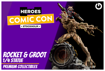 XM Studios: Coverage Comic Con Stockholm 2019 - September 13th to 15th  RocketGrootStockholmForen