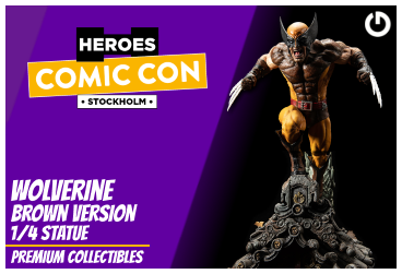 XM Studios: Coverage Comic Con Stockholm 2019 - September 13th to 15th  WolverineBrownStockholmForen