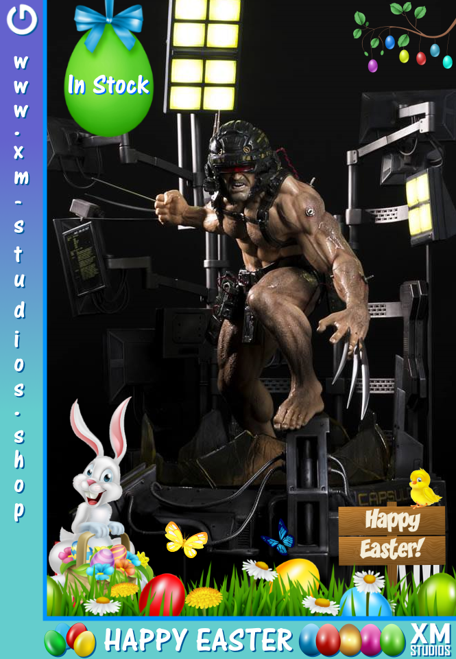 XM Studios : Europe Easter Special - 2019 WeaponX