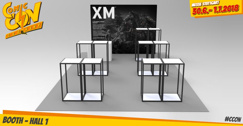 XM Studios: Comic Con Germany Stuttgart 2018  XMBoth960Mitte