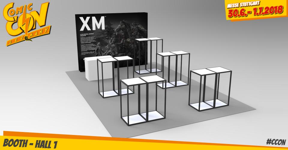 XM Studios: Comic Con Germany Stuttgart 2018  XMBoth960Rechts