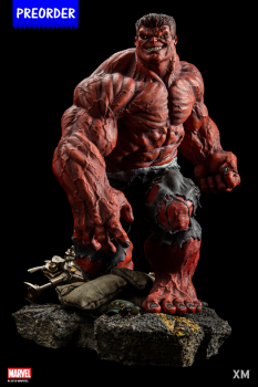 XM Studios Red Hulk 1/4 Premium Collectibles Statue