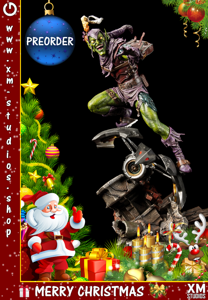XM Studios: GHeroes Europe Christmas Special 2019 Green%20Goblin