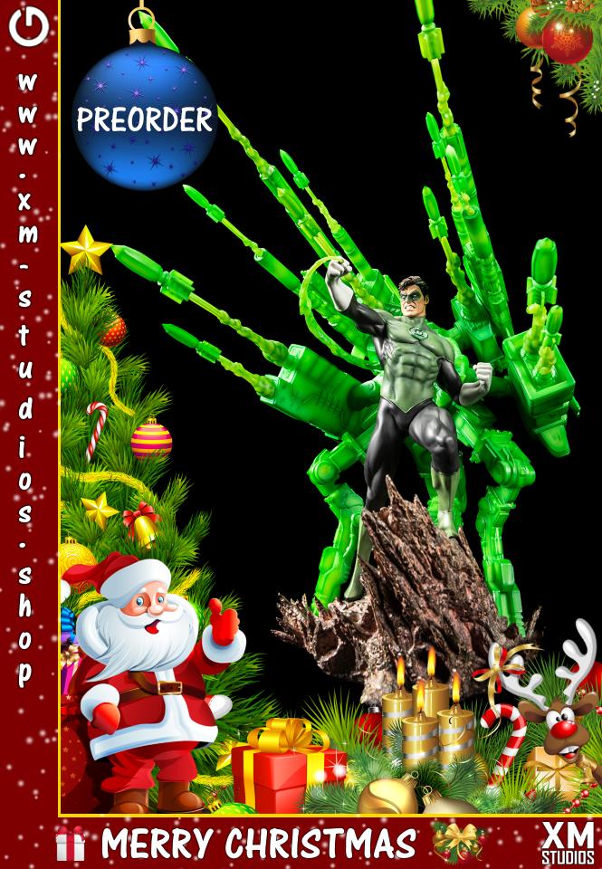 XM Studios: GHeroes Europe Christmas Special 2019 Green%20Lantern_1