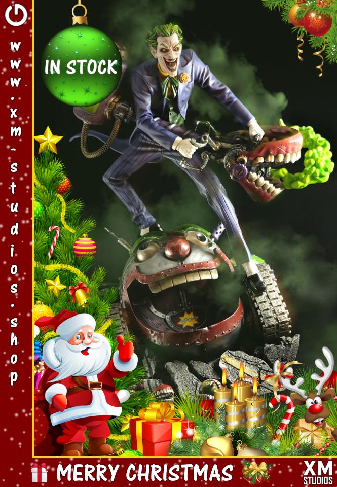XM Studios: GHeroes Europe Christmas Special 2019 Joker