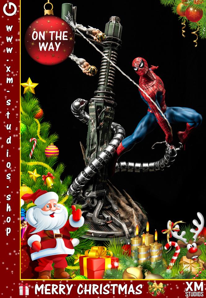 XM Studios: GHeroes Europe Christmas Special 2019 Spiderman